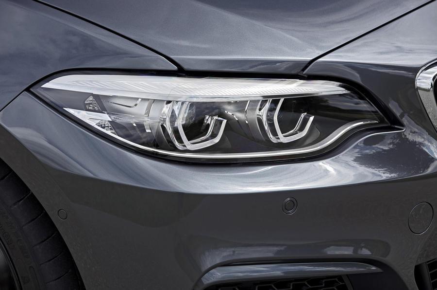 BMW M240i LED headlights