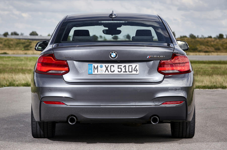 BMW M240i rear end