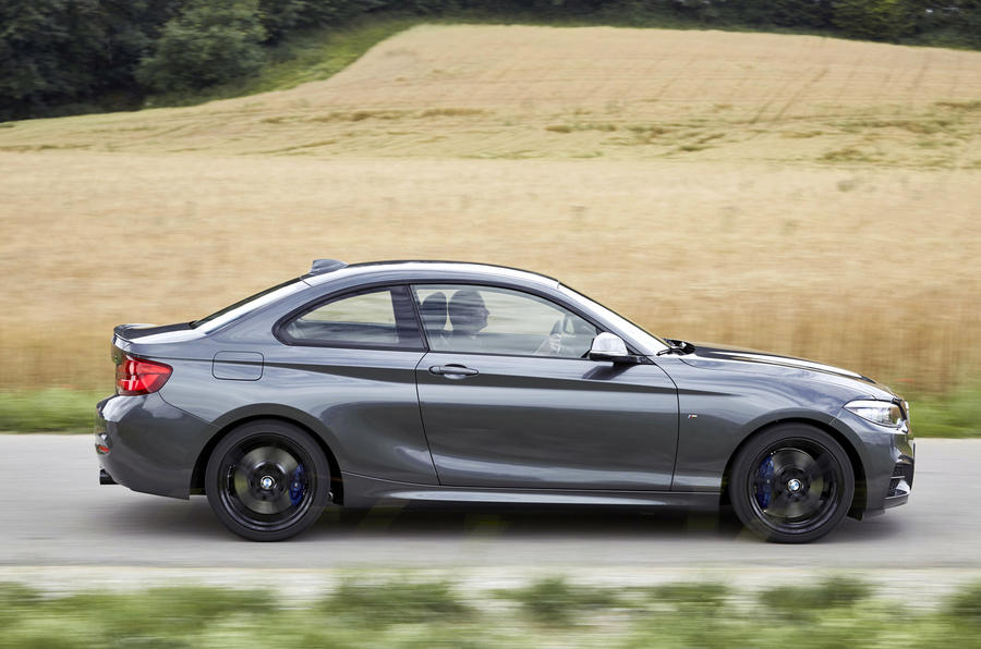 BMW M240i side profile