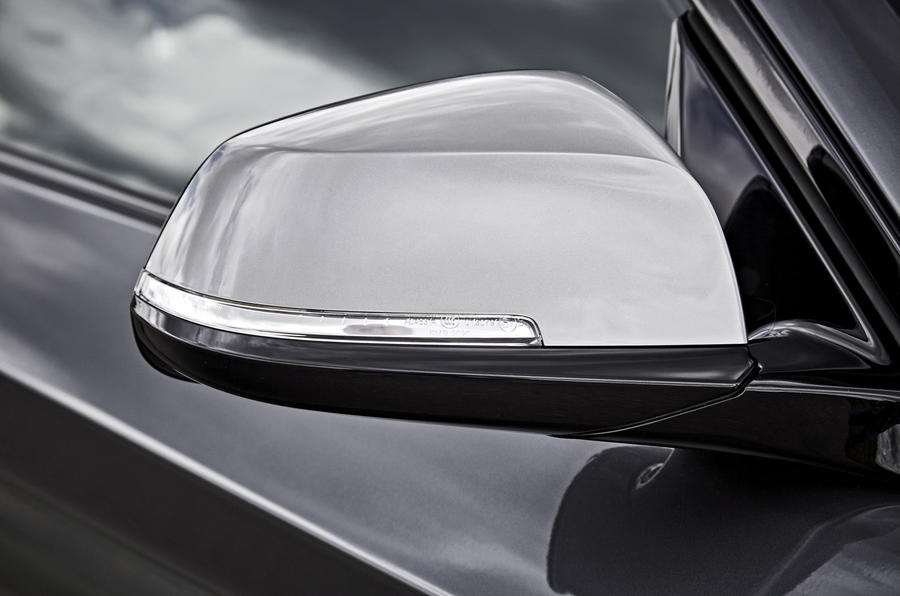 BMW M240i wing mirrors