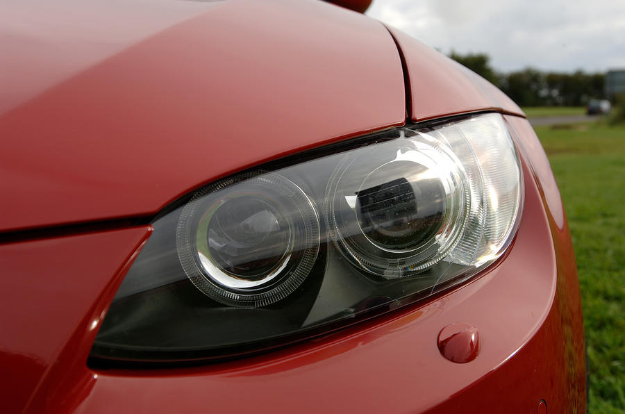 BMW M3 xenon headlights