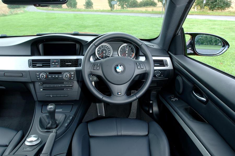... BMW M3 Coupé Interior ...