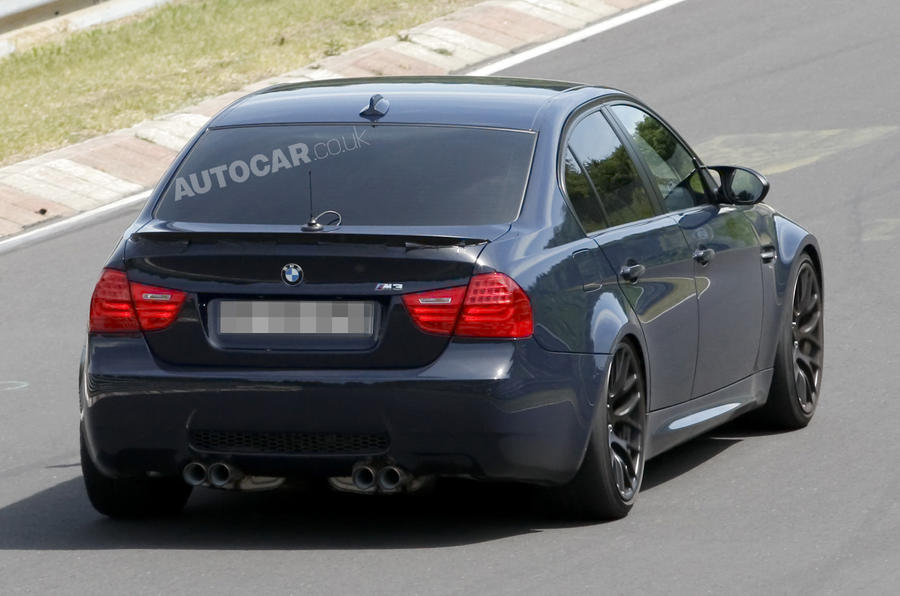 BMW plans hardcore M3 saloon