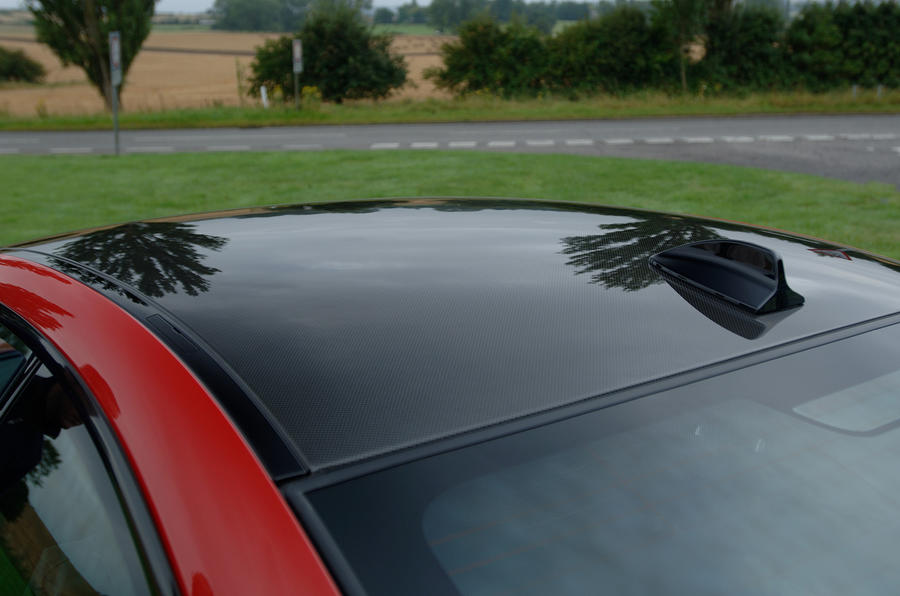 BMW M3 carbonfibre roof