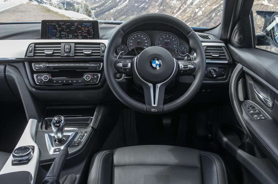 BMW M3 dashboard