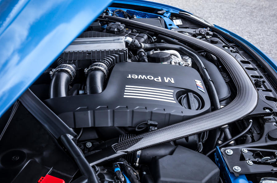 4.0-litre V8 BMW M3 engine