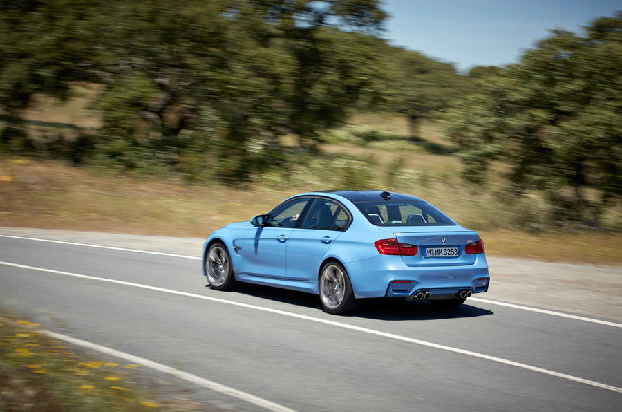 BMW M3 can reach 174mph de-restricted