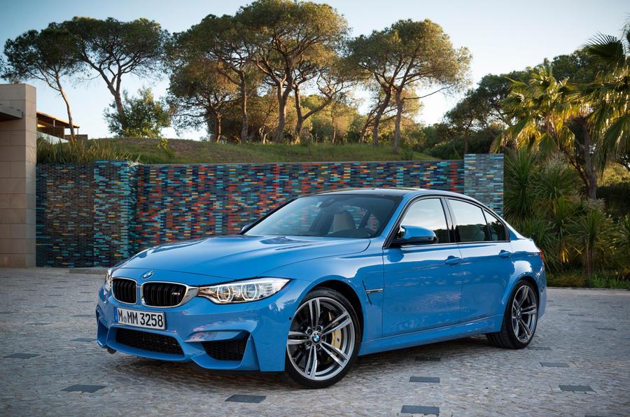 BMW M3 front quarter