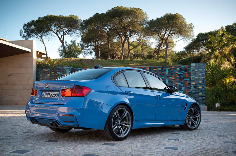 BMW M3 rear quarter