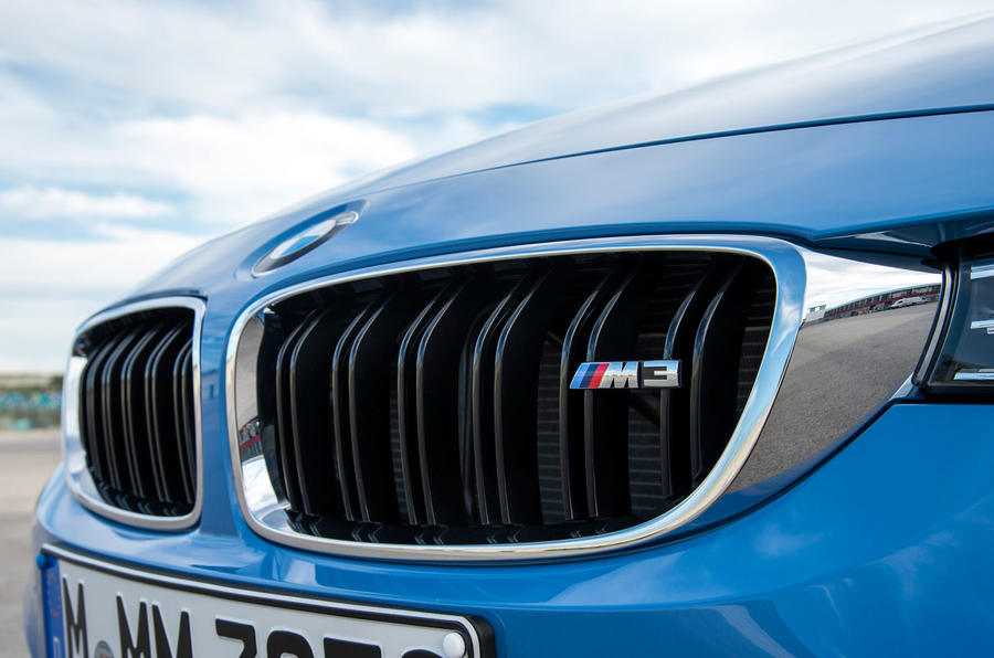 BMW M3 front grille
