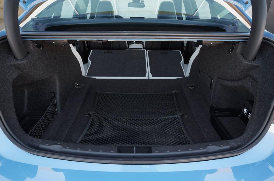 BMW M3's seat flexiblity
