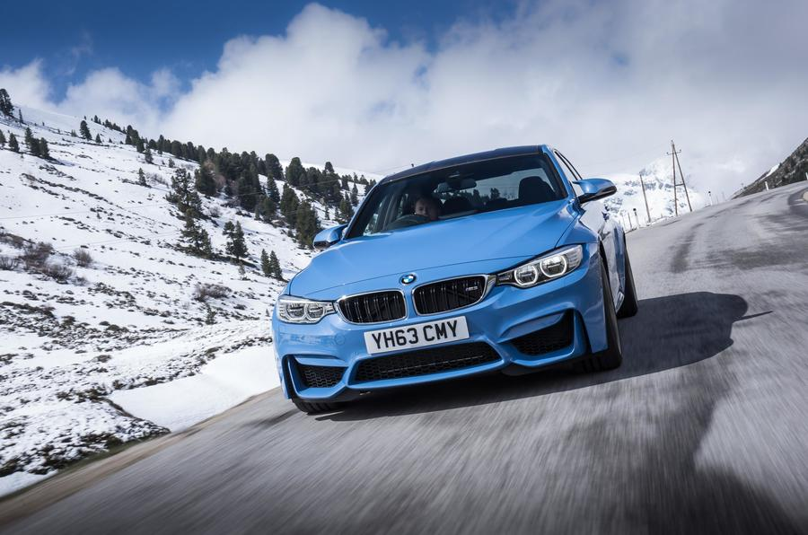 BMW M3 front end