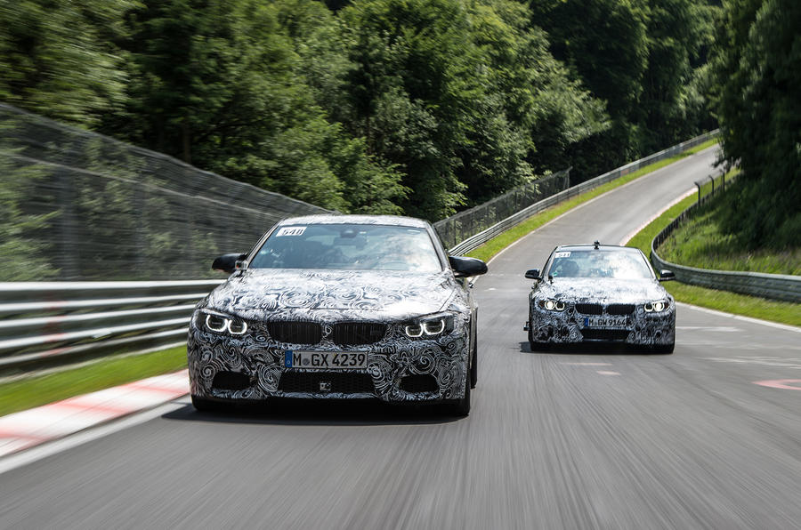 The BMW M3 and M4's new engine