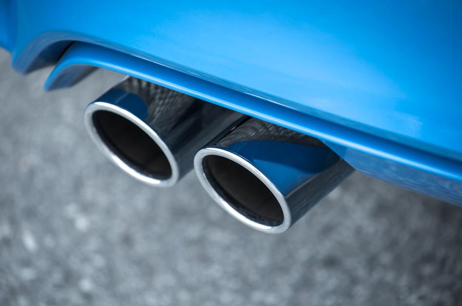 BMW M3 quad-exhaust