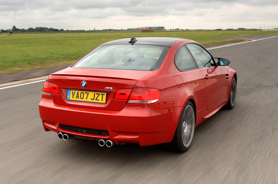 BMW M3 Coupé rear quarter