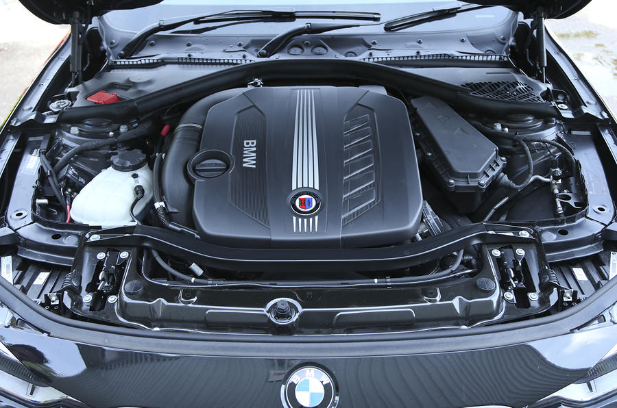 The D3's twin-turbocharged six-cylinder diesel engine produces 345bhp ...