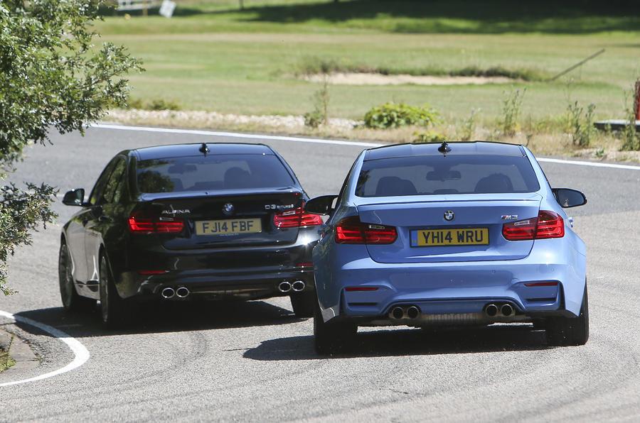 Comparison: BMW M3 versus Alpina D3