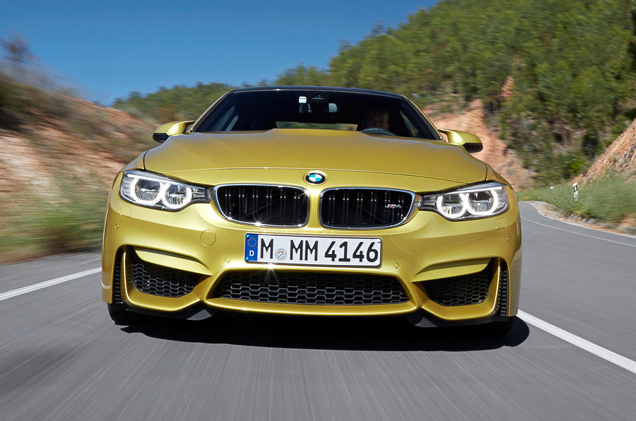 BMW M4 front grille