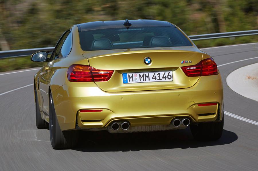BMW M4 rear end