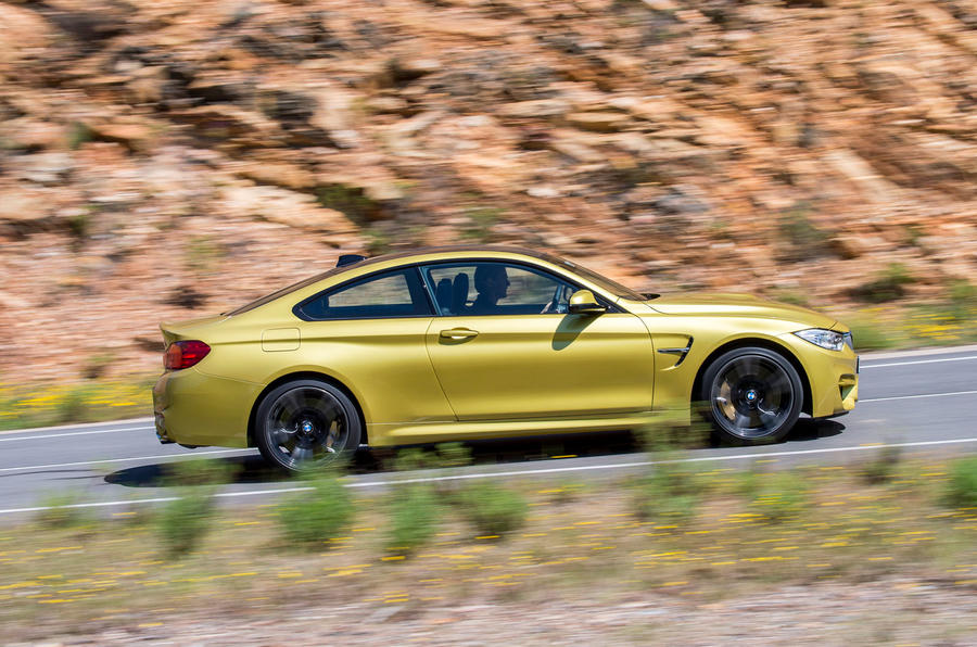 BMW M4 side profile