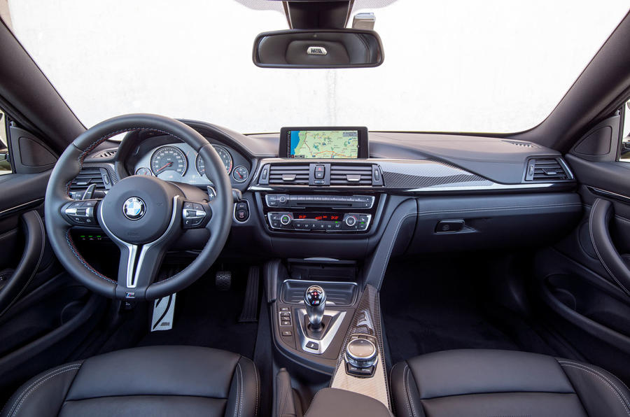 BMW M4 dashboard
