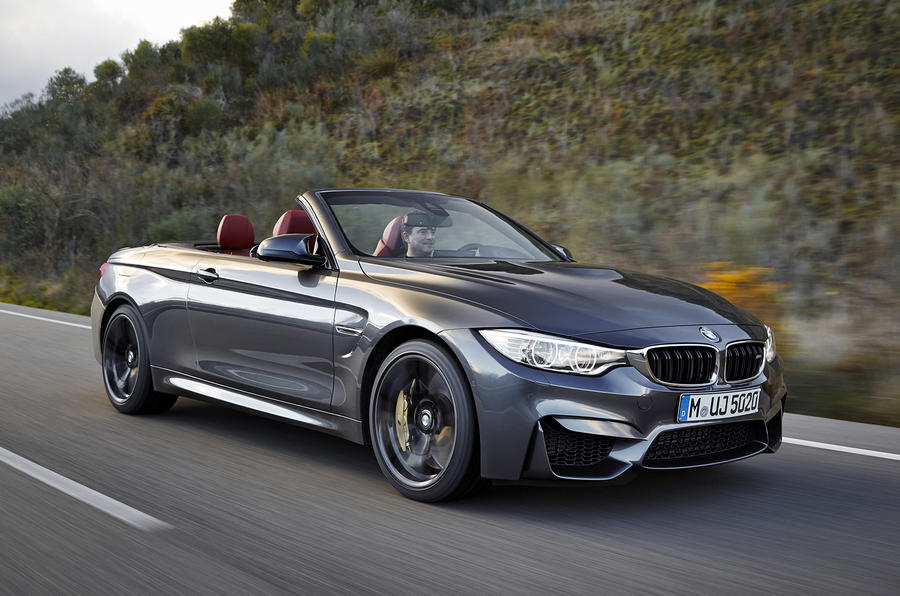 BMW M4 Cabriolet revealed with 425bhp