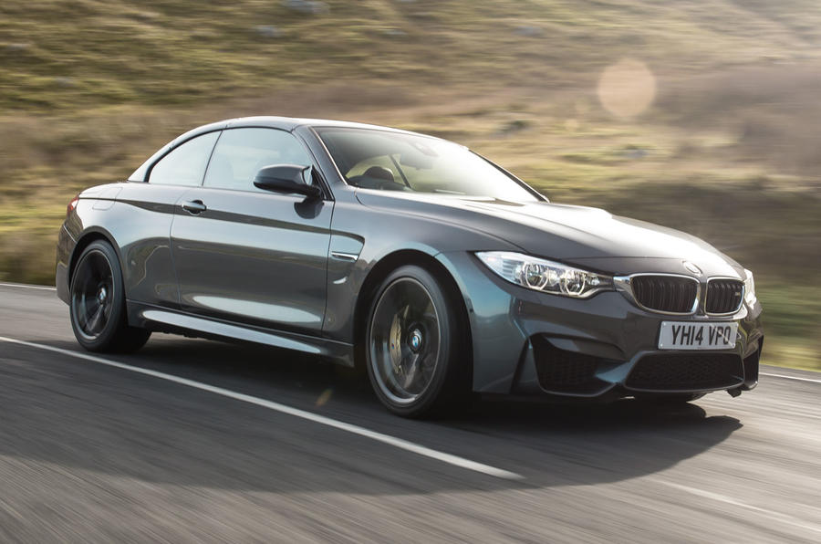 BMW M4 convertible UK first drive review