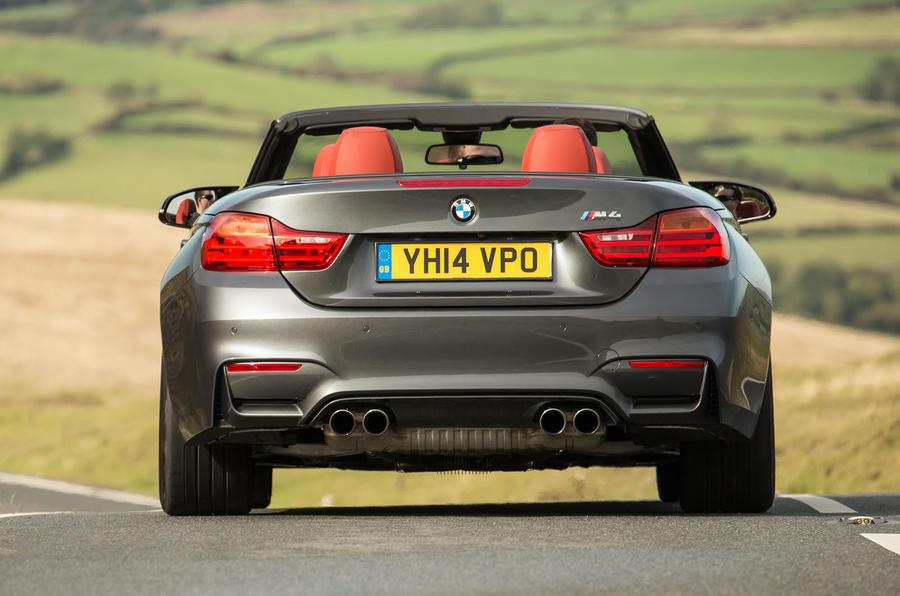BMW M4 Convertible rear