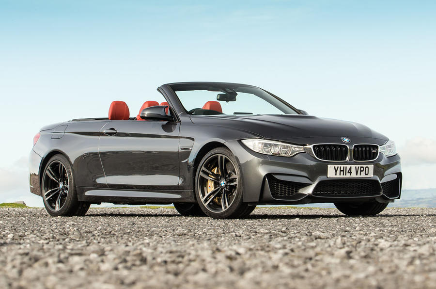 4 star BMW M4 Convertible