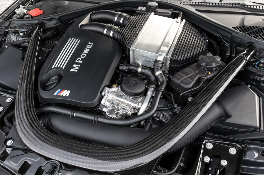 Twin-turbo 3.0-litre BMW M4 engine