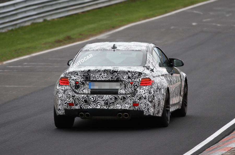BMW M4 undergoes Nürburgring tests