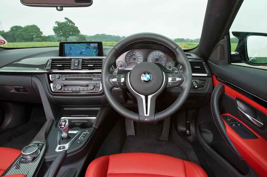 ... BMW M4 Interior ...