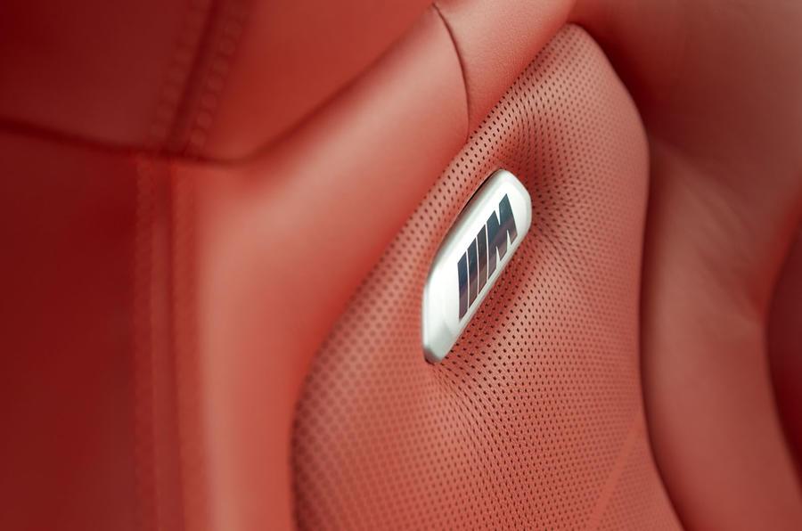 BMW M4 badging