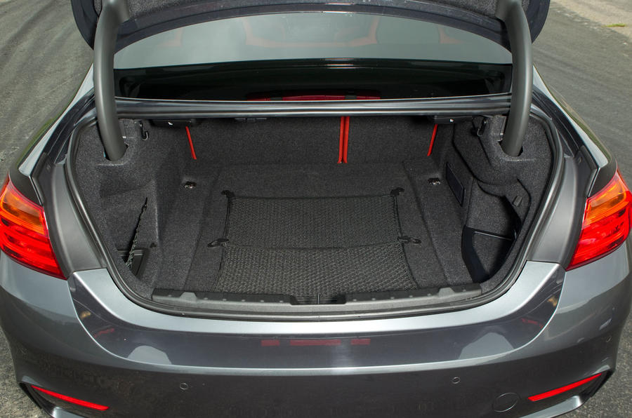 BMW M4 boot space