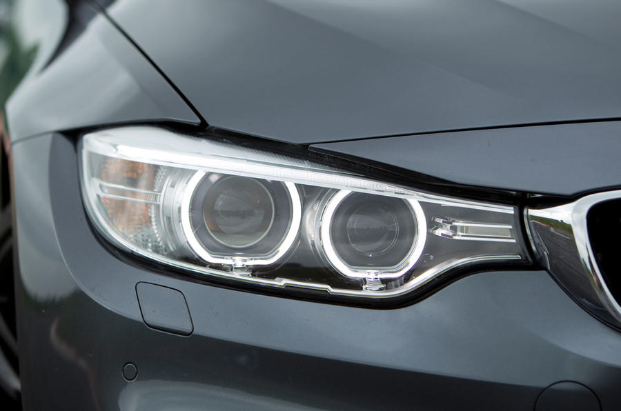 BMW M4 xenon headlights