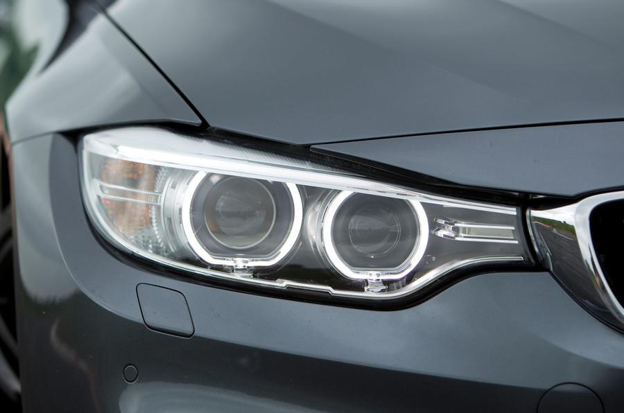 BMW M4 xenon headlights