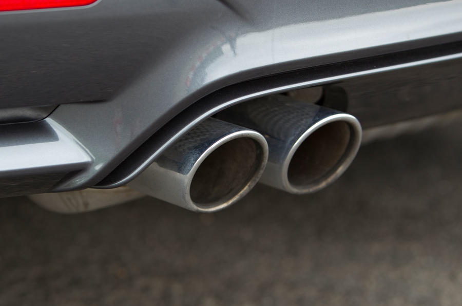 BMW M4 quad exhausts