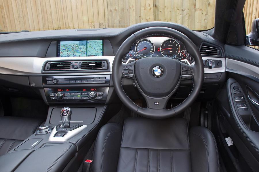 BMW M5 Interior Cabin Features Exclusive Textured Aluminium Trim