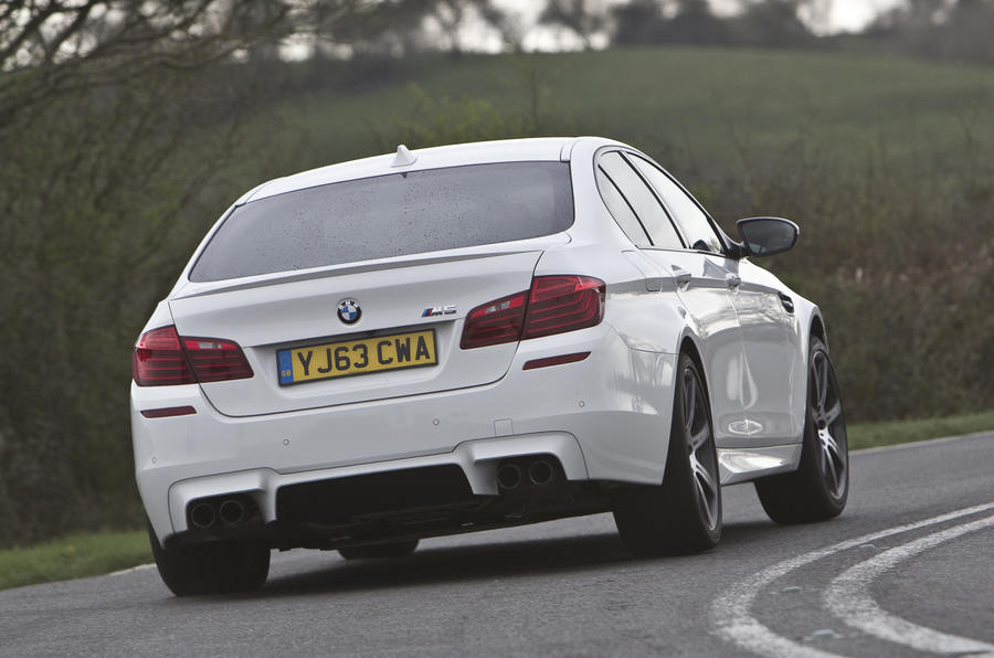 BMW M5 Competition Pack rear