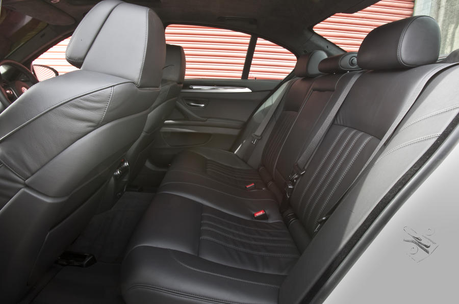 BMW M5 Competition Pack rear seats