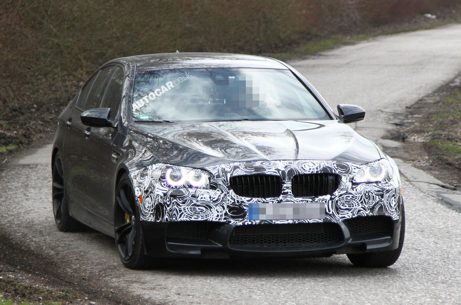 2014 BMW M5 spied for the first time
