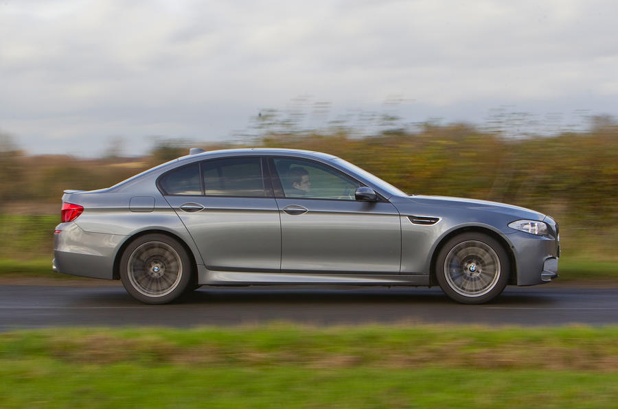 The 552bhp BMW M5