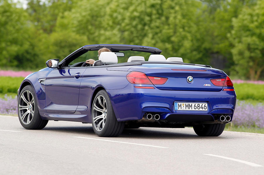 BMW M6 Convertible rear