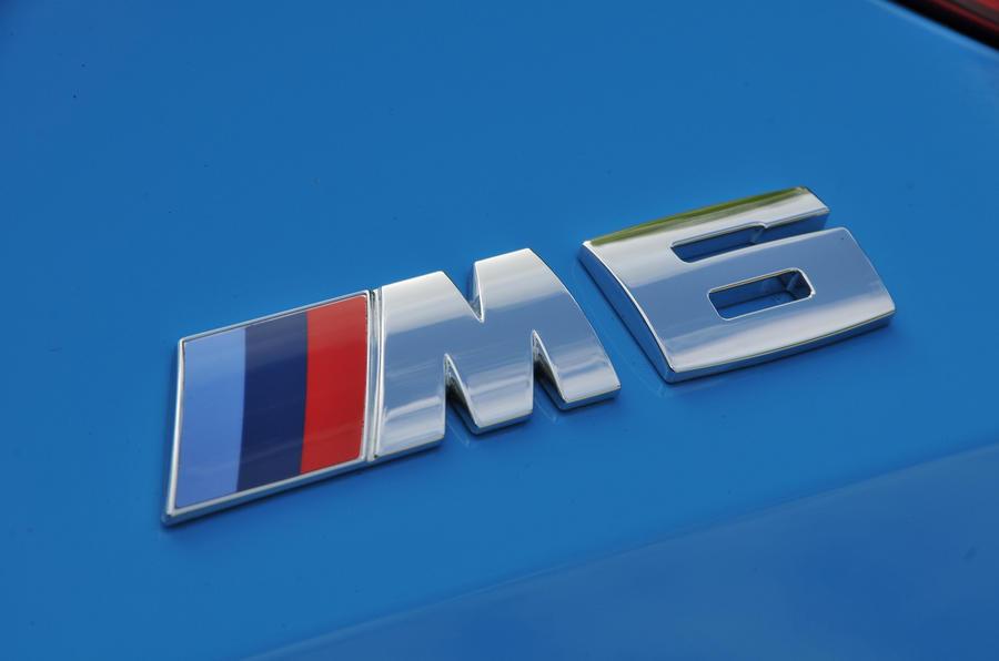 BMW M6 badging