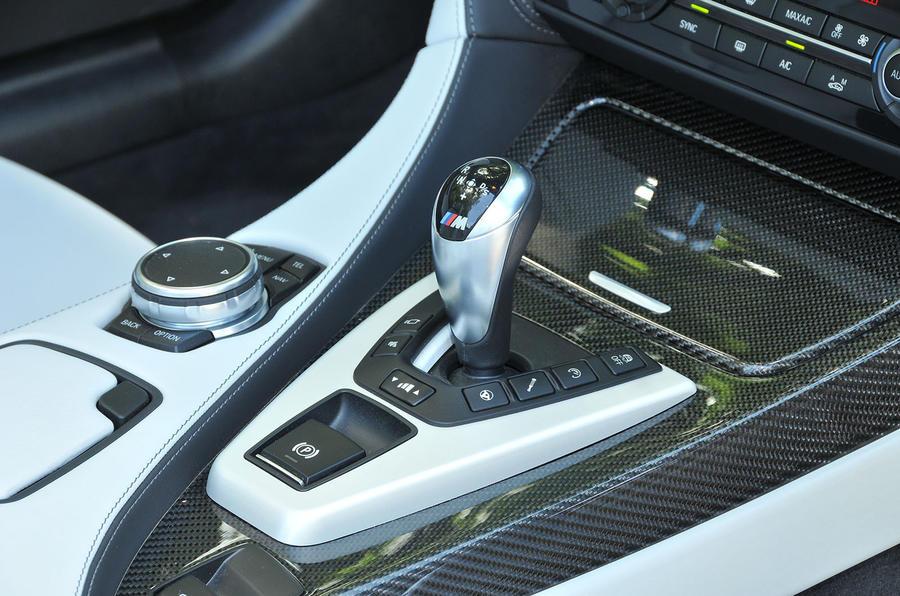 BMW M6's magic wand gearstick