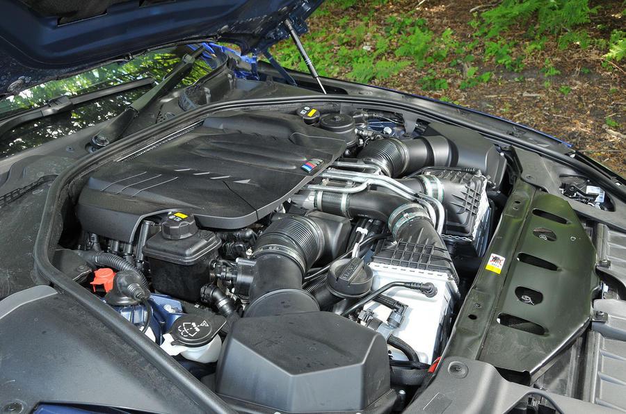 4.4-litre V8 BMW M6 engine