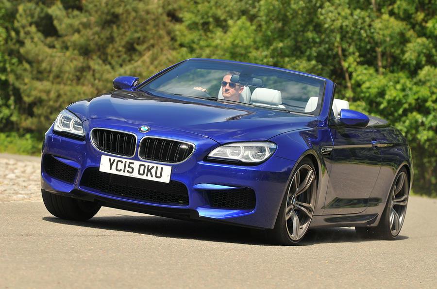 BMW M6 Convertible rear cornering
