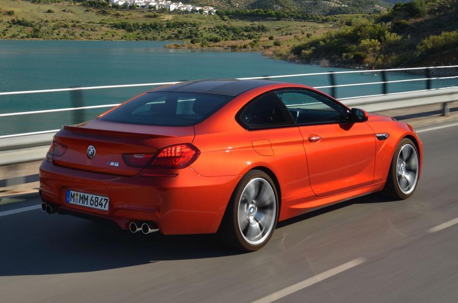BMW M6 Coupés rear