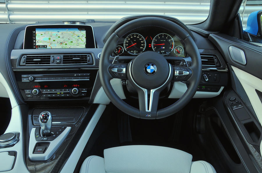 BMW M6 dashboard