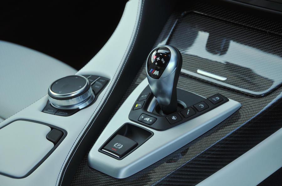 BMW M6 DCT gearbox